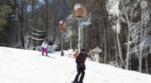 The Smallest Ski Slope In North Carolina Can Be Found At Ski Sapphire Valley And It's Great For Beginners