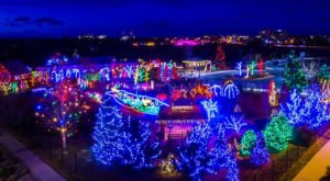 The Garden Christmas Light Displays At The Gardens On Spring Creek In Colorado Is Pure Holiday Magic