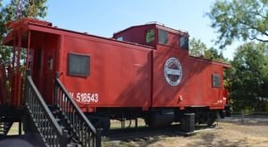 Spend The Night In An Authentic 19th Century Railroad Caboose In The Middle Of The Texas Hill Country