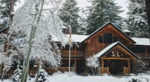 Snuggle Into A Cabin In The Middle Of An Oregon Forest When You Stay At Suttle Lodge & Boathouse