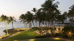 Eat Dinner Overlooking The Pacific At Brown's Beach House In Hawaii