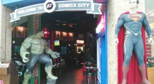 The Comic Book Themed Restaurant In Arizona That Will Bring Out Your Inner Super Hero
