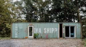 Stay Overnight In An Old Shipping Container Right Around The Corner From Cleveland