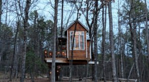 There's A Treehouse-Themed Airbnb In South Carolina And It's The Perfect Little Hideout