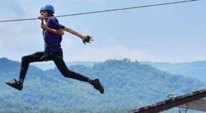 Take A Winter Zip Line Tour To Marvel Over Tennessee's Majestic Snow Covered Landscape From Above