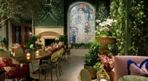 The Garden Room In Georgia Is A Floral-Filled Restaurant & Immersive Garden Bar
