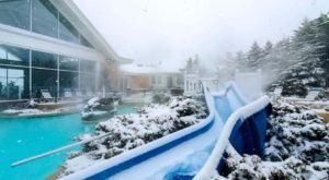 Whirl Through West Virginia's Snowy Scenery With A Ride On This Outdoor Winter Waterslide