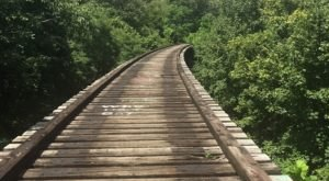 The Valley Trail In Cincinnati Leads Straight To An Abandoned 1800s Railroad Bridge