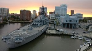 You Can Tour An Authentic WWII Battleship, USS Wisconsin, In Norfolk, Virginia