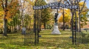 Most People Don't Realize That There Is A Confederate Cemetery Hiding Near Cleveland