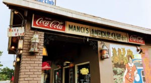 Dine At A Dive Bar Filled With Priceless Antiques At Manci's Antique Club In Alabama