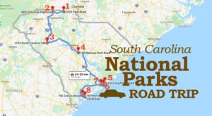 Road Trip To 8 Of South Carolina's National Parks For A Trip Through History