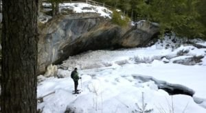 You'll Find The Largest Cave Entrance In The Eastern U.S. On The Magical Snowshoe Trails In New York