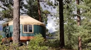 Disconnect From It All And Sleep In A Yurt At Hyde Memorial State Park In New Mexico
