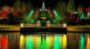 The Garden Of Lights At The Tulsa Botanic Gardens In Oklahoma Is A Dazzling Winter Tradition You'll Want To See In Person