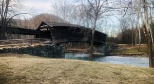 The Oldest Covered Bridge In Virginia Has Been Around Since 1857