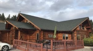 Head To The Mountains Of Montana To Visit Lolo Creek Steakhouse, A Charming, Old Fashioned Restaurant