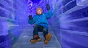 Ride Down A Two-Story Ice Slide This Christmas At Gaylord Rockies In Colorado
