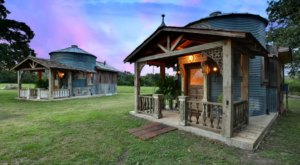 Get Away From It All With A Night In These Charming Silo Cottages Near Round Top, Texas