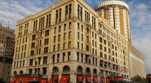 The Pfister Hotel In Milwaukee Was Dubbed One Of The Best Hotels In The Midwest