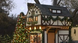 Stroll Through A Quaint European Christmas Village In Texas This Holiday Season