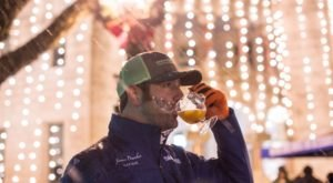 Drink Unlimited Hot Cider And Walk Through Christmas Lights At Wassailfest In Texas