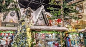 Browse Through An Entire European Village Of Shops At The Kristmas Kringle Shoppe In Wisconsin