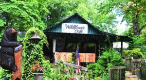 Visit One Of The Best Tried-And-True Small Town Restaurants At The Wildflower Cafe In Alabama