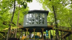 Spend A Night In A Treehouse At Sulfur Ridge, A Luxury Treehouse Experience In Tennessee