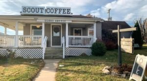 Sip A Specialty Drink At Scout Coffee, A Cozy Coffee Shop In Missouri