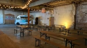 Kick Back With A Cold Drink And A Delicious Dish At This Winter Pop-Up Taproom In Pittsburgh