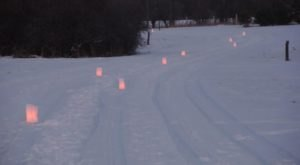 Walk Under The Full Moon Along A Lantern-Lit Trail During This Special Hike In North Dakota