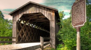 The Oldest Covered Bridge In Wisconsin Has Been Around Since 1876