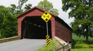 The Oldest Covered Bridge In Maryland Has Been Around Since 1843