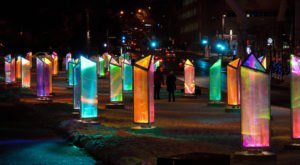 Immerse Yourself In A Magical Light Installation Called Prismatica At Michigan's World Of Winter Festival
