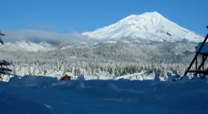 The Tiny Northern California Town Of McCloud Is A Grand Winter Wonderland