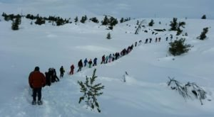 Snowshoe Across A Volcano When You Take A Guided Tour At Idaho's Craters Of The Moon This Winter