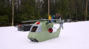 Build Your Own Sled For West Virginia's Cardboard And Duct Tape Sled Race This Winter