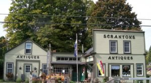 Search For One-Of-A-Kind Antiques Inside An Old Blacksmith Shop At Scranton's Shops In Connecticut