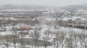 Hot Springs State Park Is Home To A Gorgeous Thermal Spring In Wyoming You Can Still Visit In The Wintertime