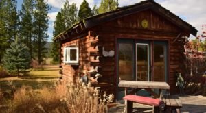 This Tiny One-Room Cabin On The Payette River In Idaho Makes For A Simple And Tranquil Escape