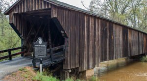The Oldest Covered Bridge In Georgia Has Been Around Since 1840