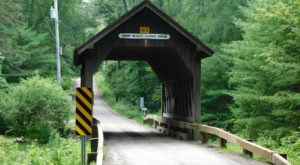 The Only Covered Bridge In Rhode Island Has Been Around Since 1986