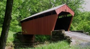 Hop In The Car And Visit 6 Of West Virginia's Covered Bridges In One Day