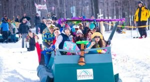 Build Your Own Sled For Pennsylvania's Cardboard Box Derby This Winter