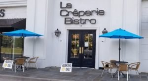 Choose From More Than 15 Types Of Crepes At La Creperie Bistro In Louisiana