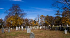 Visit Canton Corner Cemetery, A Hidden Cemetery That Feels Like Massachusetts's Most Haunted Secret