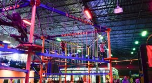This Indoor Adventure Park In Northern California, Urban Air, Is Fun For The Whole Family