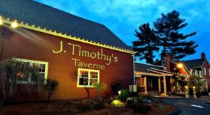 The Massive Prime Rib At J Timothy's Taverne In Connecticut Belongs On Your Dining Bucket List