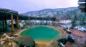 Jemez Hot Springs Is One Of The Gorgeous Hot Springs In New Mexico You Can Still Visit In The Wintertime